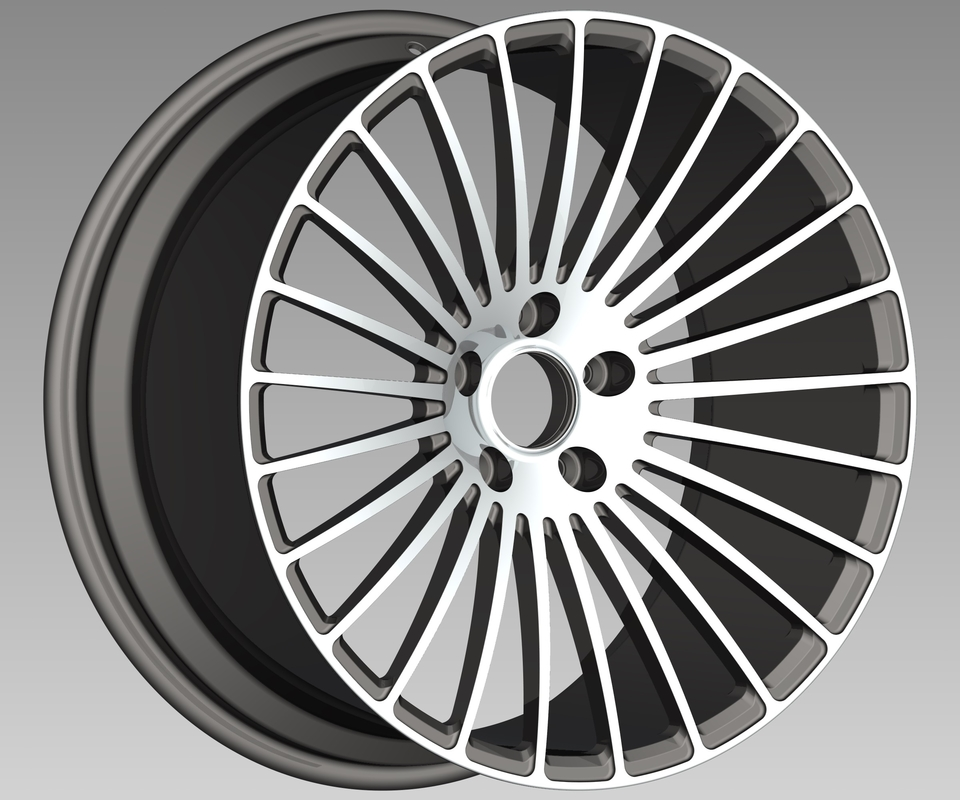 New Design 1 Piece Wheels Car Supplier Manufacture Forged Alloy Rims