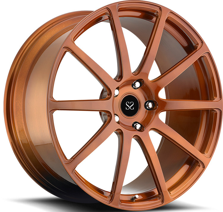 Bronze 22 23 24 inch 1- Piece Forged Wheels For Chevrolet Camaro