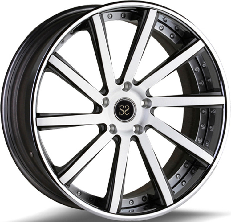 Custom 2- PC 21 Inch Rims For Ford With Longlife