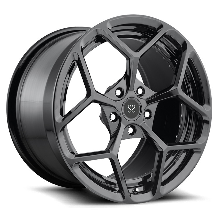 PCD 139.7mm 2-PC 6061-T6 Ferrari Forged Wheels