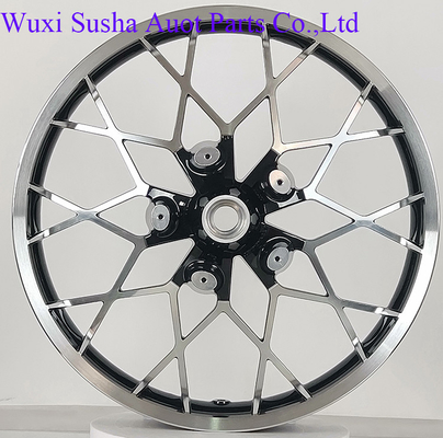 "Custom Bike Black Front 21"" Wheel Harley 08-20 Touring Models"